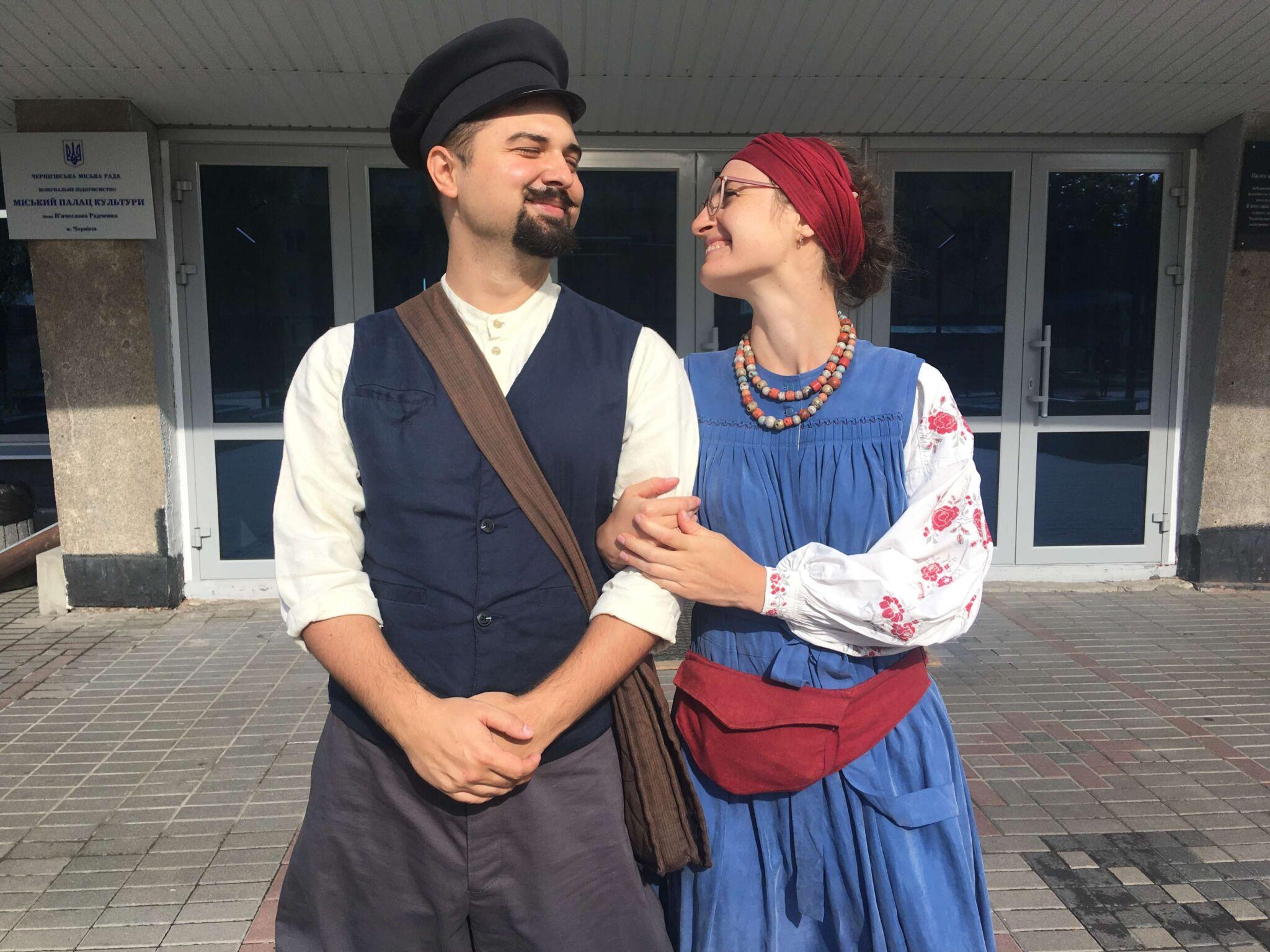Весілля-2020: у МПК пара з Києва одружувалася у старовинному строї
